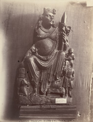 Statue of Bodhisattva from Takal Bala, Peshawar District
